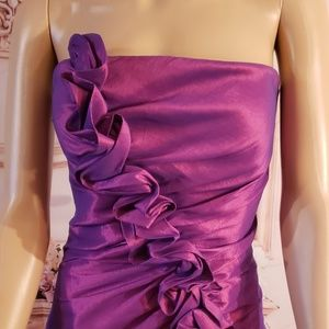 Chicas strapless dress size M